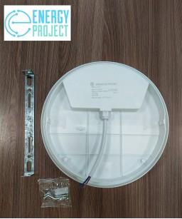 Светильник LED НПП 30W круг белый с датчиком PLATO
