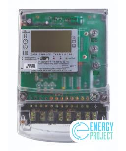 Счетчик электронный 3фаз. многотарифный с функцией PLC ДАЛА СA4-Э720 R TX P PLC IP П RS 3Х220/380V 10(100)А