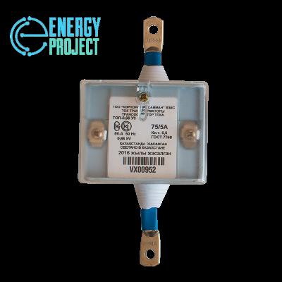 Трансформатор тока ТОП-0,66 У3 (75-5А) КОД VX