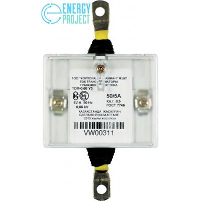 Трансформатор тока ТОП-0,66 У3 (50-5А) КОД VW