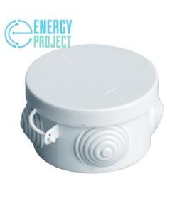 Коробка распаячная пылевлагозащитная с гермовводами УПр 65/40.1.3.