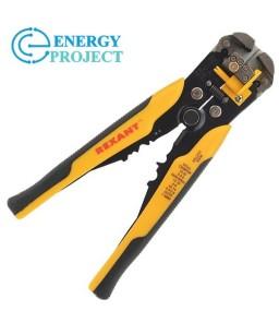 Инструмент для зачистки кабеля  0.2 - 6.0 мм²  и обжима наконечников  (HT-766)  (TL-766)  REXANT